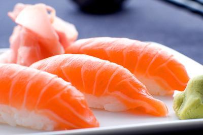 Ama Ebi Nigiri Sushi