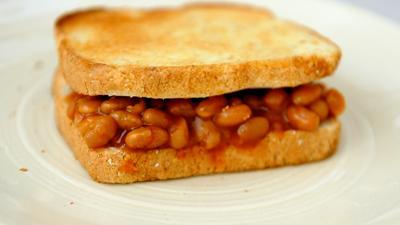 Baked Bean Sandwich