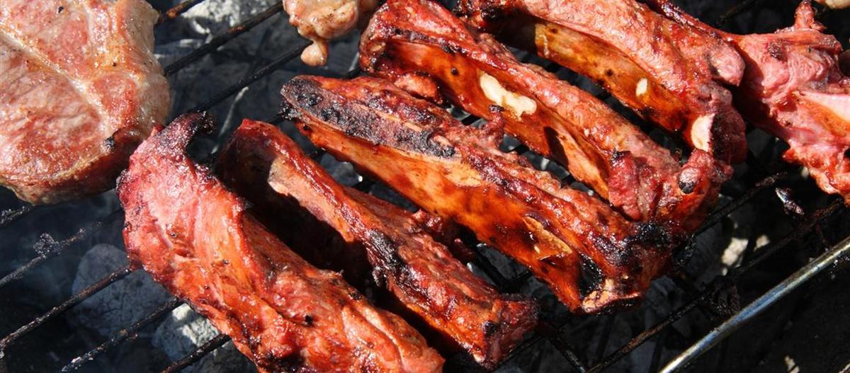 Barbecued Pigtail