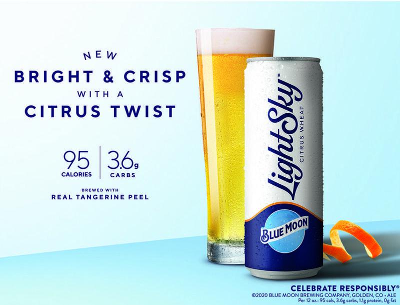 Blue Moon Lightsky Beer