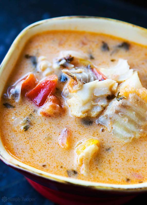 Brazilian Coconut Fish Stew
