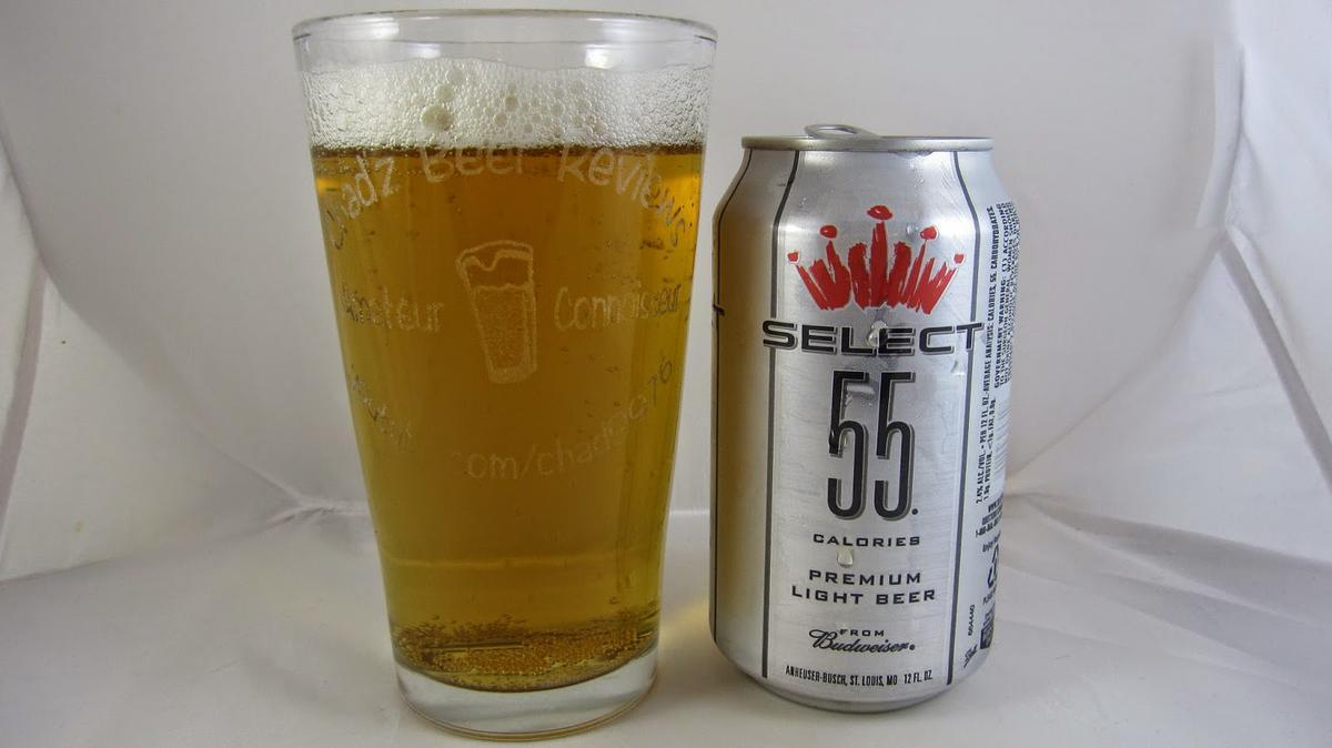 Budweiser Select 55 Beer