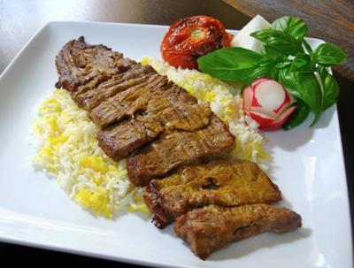 Chelow Kabab