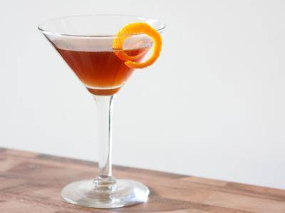 Fancy Whiskey Cocktail