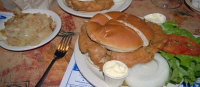 Fried-brain Sandwich