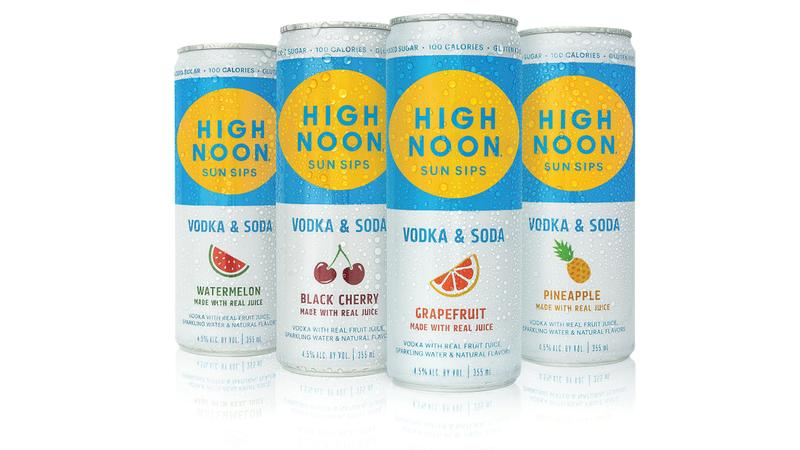 High Noon Sun Sips Hard Seltzer