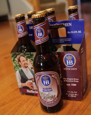 Hofbräu Maibock Urbock Beer
