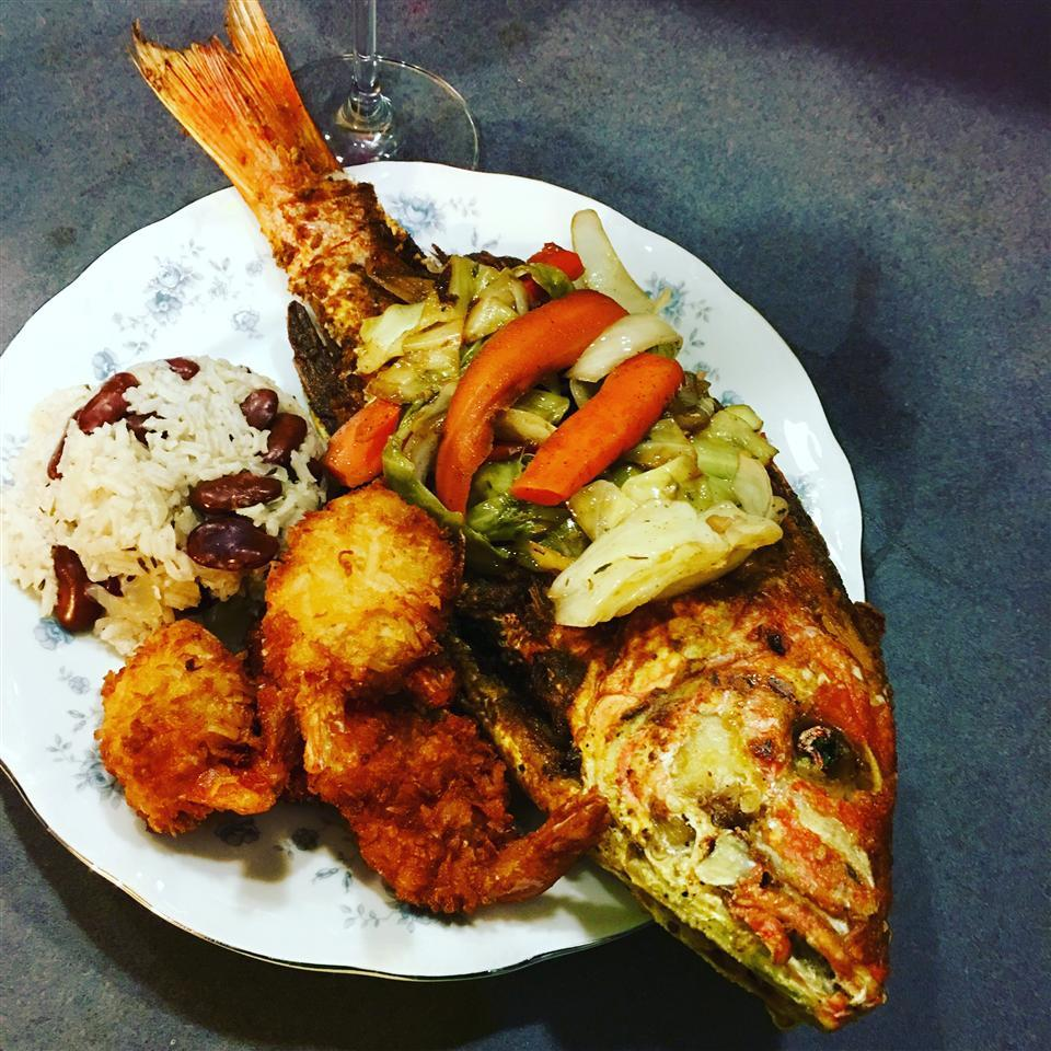 Jamaican Fried Snapper