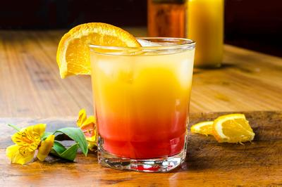 Kentucky Sunrise Cocktail