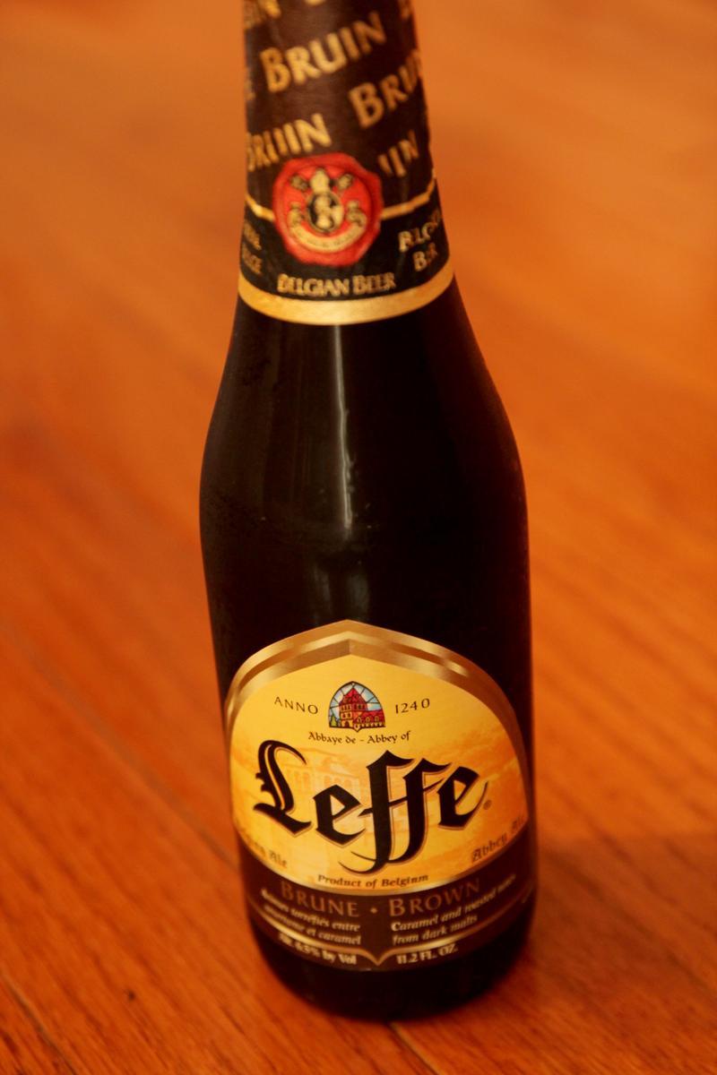 Leffe Brune Brown Beer