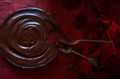 Mayan Chocolate Tart