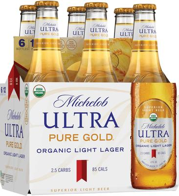 Michelob Ultra Pure Gold Beer