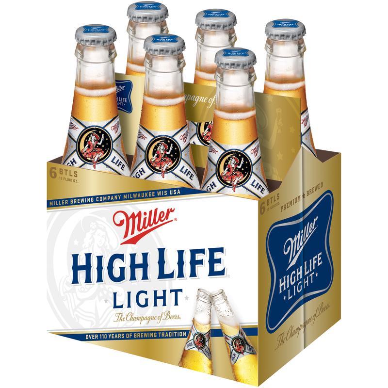 Miller High Life Light Beer