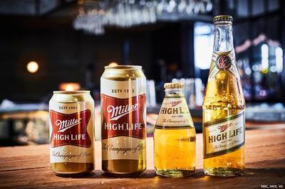 Miller High Life Beer