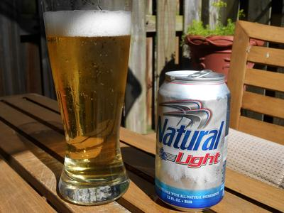 Natural Light Beer