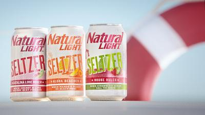 Natural Light Hard Seltzer