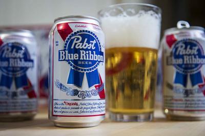 Pabst Blue Ribbon PBR Beer