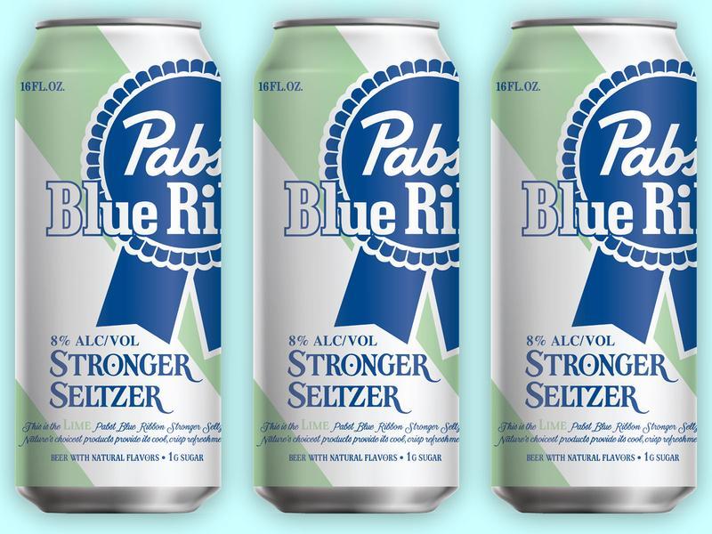 Pabst Blue Ribbon Stronger Seltzer