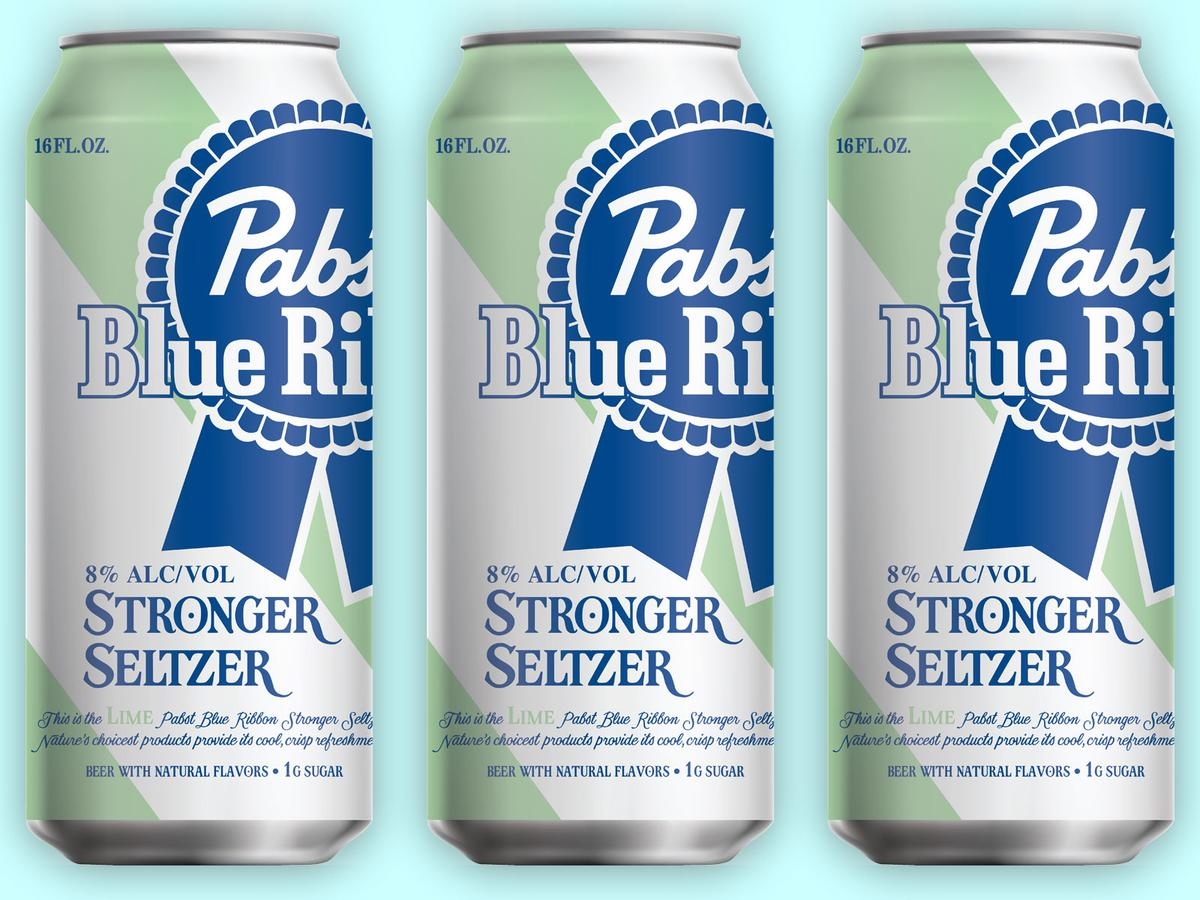 Pabst Blue Ribbon Stronger Seltzer