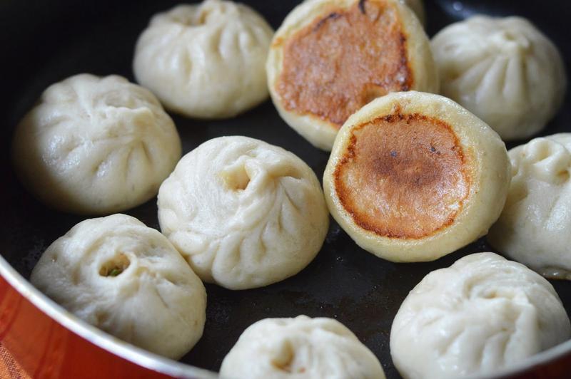 Pan-fried Buns