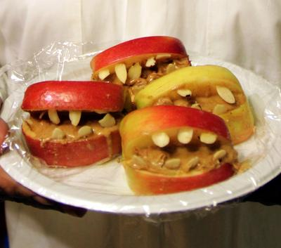 Peanut Butter Apple Mouth