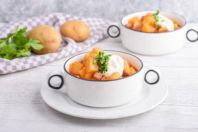 Potato Gulasch