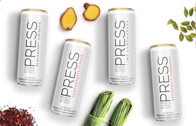 Press Blood Orange Chili Hard Seltzer