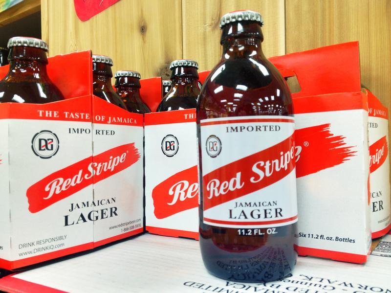 Red Stripe Beer