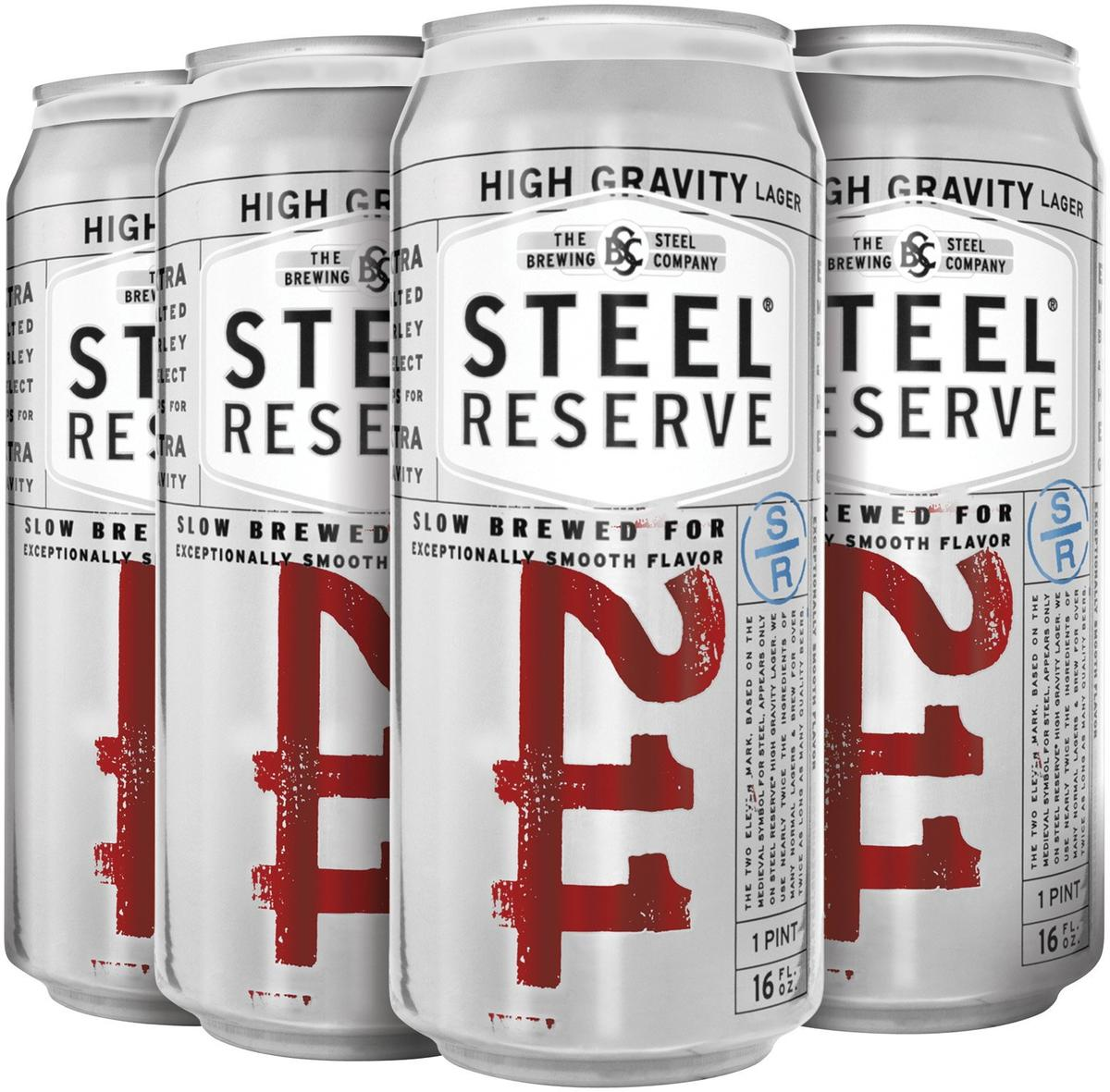 Steel Reserve 211 (high Gravity) Beer