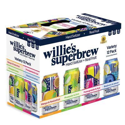 Willie's Superbrew Hard Seltzer