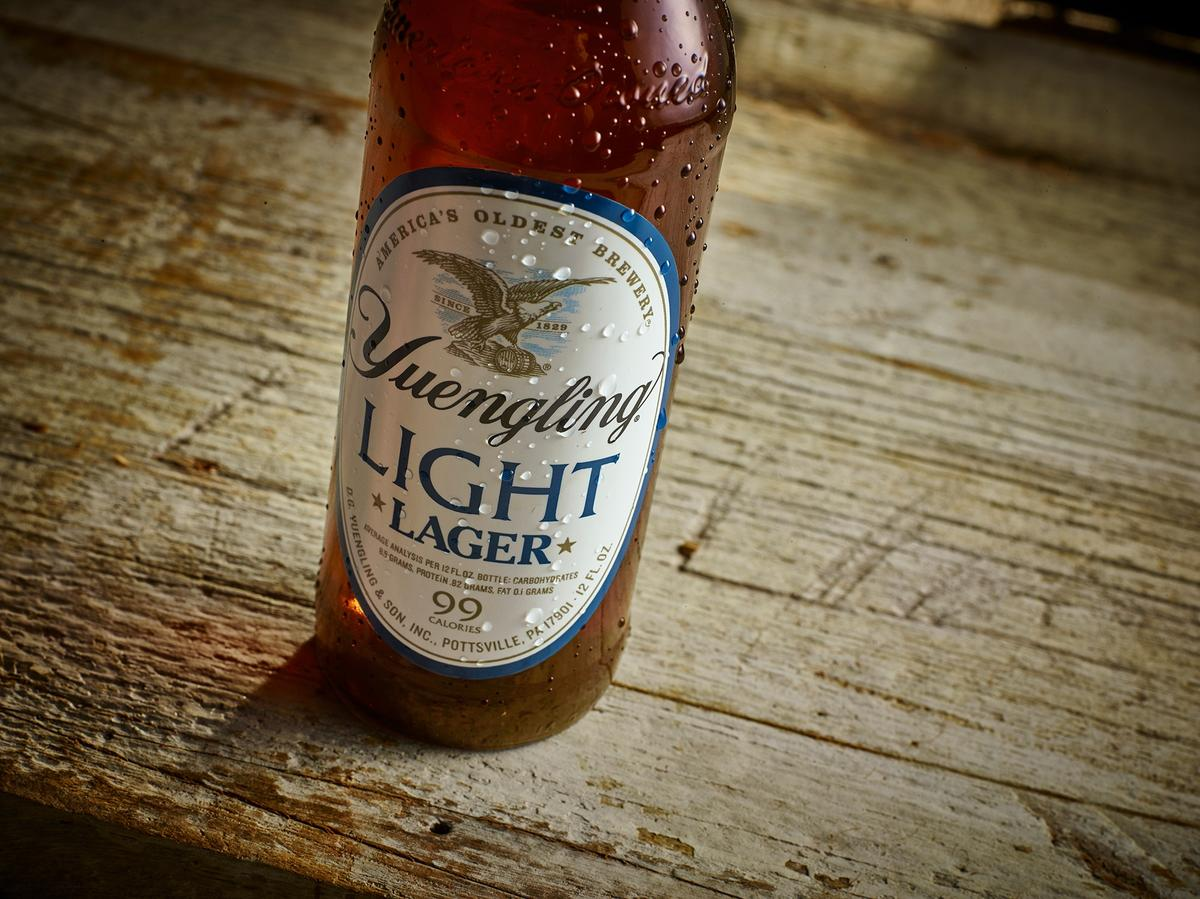 Yuengling Light Lager Beer